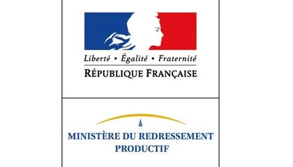 Logo Minsitère du Redressement Productif ok